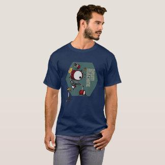 Camiseta de la máquina del Bot del tambor