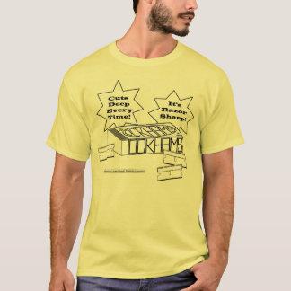 Camiseta de la maquinilla de afeitar de Ockham
