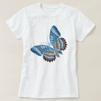 Camiseta de la mariposa de la diabetes de la
