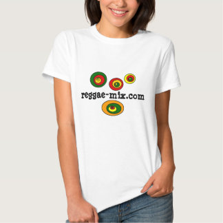 Camiseta de la mezcla del reggae