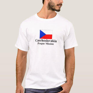 Camiseta de la misión de Checoslovaquia Praga