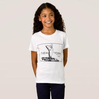 Camiseta de la moda de los chicas del patrocinador