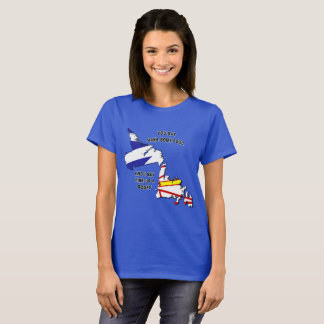 Camiseta de la mofa de Newfie