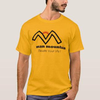 Camiseta de la montaña del hombre
