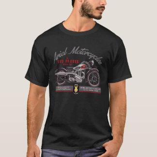 Camiseta de la motocicleta del vintage de Ariel