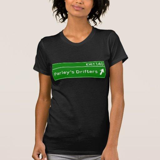 Camiseta de la muestra de la carretera