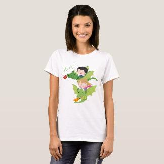 Camiseta de la mujer del dragón