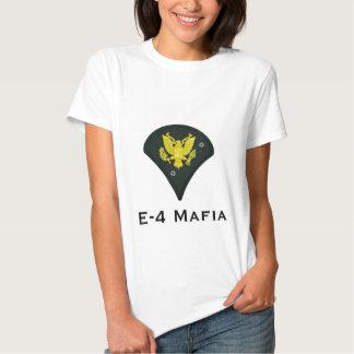 Camiseta de la muñeca de la mafia E-4