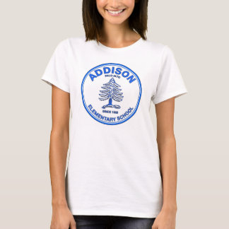 Camiseta de la muñeca de las mujeres, logotipo