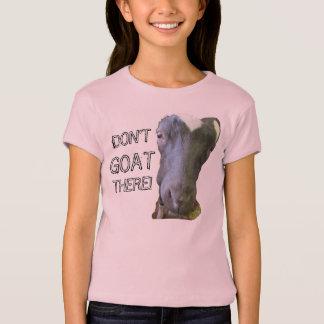Camiseta de la muñeca de los chicas de la CABRA de