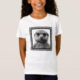 Camiseta de la muñeca de los chicas de Meerkat