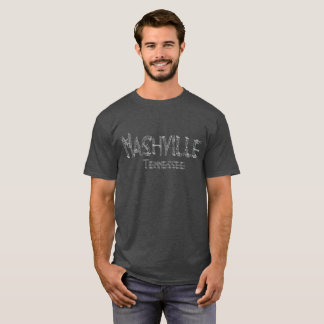 Camiseta de la música de Nashville Tennessee