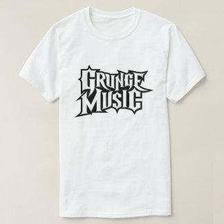 Camiseta de la música del Grunge