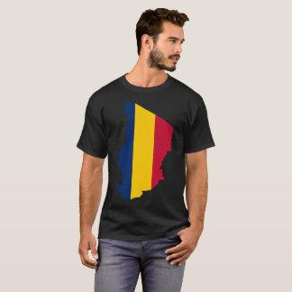 Camiseta de la nación de República eo Tchad
