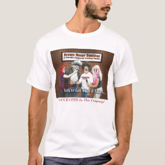Camiseta de la nariz de Brown