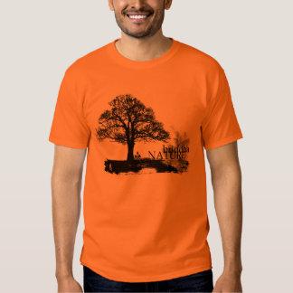 Camiseta de la naturaleza de Buda
