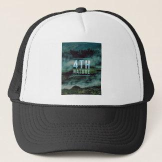 Camiseta de la naturaleza gorra de camionero