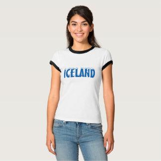 CAMISETA DE LA NIEVE DE ISLANDIA