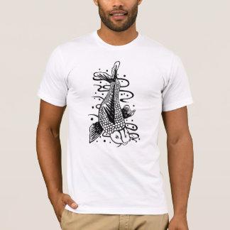 Camiseta de la novedad del estilo del tatuaje de