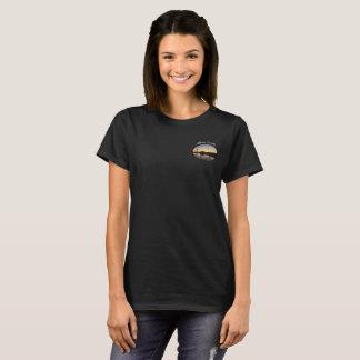 Camiseta de la oscuridad de Alberta Canadá de las
