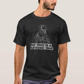 Camiseta de la oscuridad de Jesús del rapaz