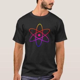 Camiseta de la oscuridad del átomo
