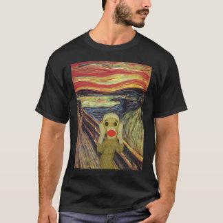 Camiseta de la oscuridad del grito del mono del