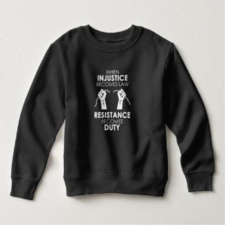 Camiseta de la oscuridad del niño de la injusticia