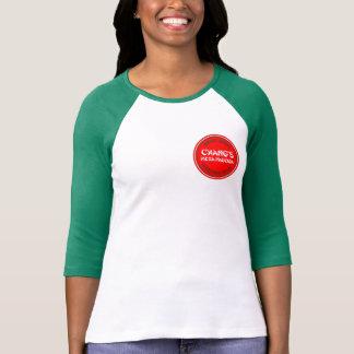 Camiseta de la pagoda de la pizza de Chang