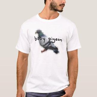 Camiseta de la paloma del bebé