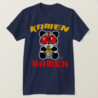 Camiseta de la panda de los Ramen de Kamen