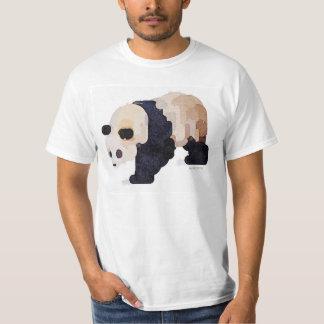 Camiseta de la panda del helado (blanca)