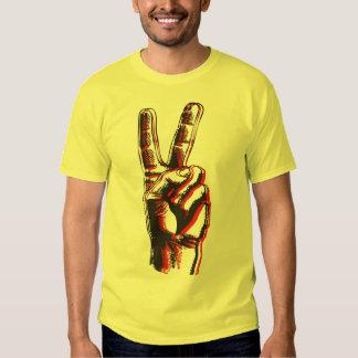 Camiseta de la paz