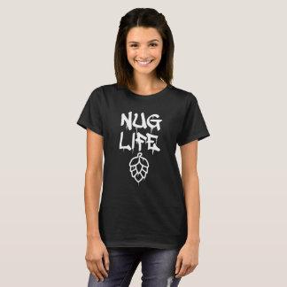 Camiseta de la pintada de la vida de Nug (cerveza