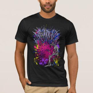 Camiseta de la pintura de la entropía