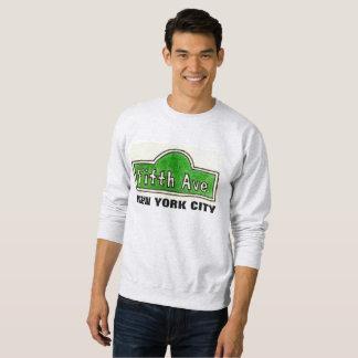 Camiseta de la placa de calle de New York City de