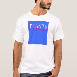 camiseta de la planta 80s