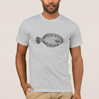 Camiseta de la platija