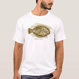 Camiseta de la platija de invierno