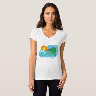 Camiseta de la playa de Los Ángeles