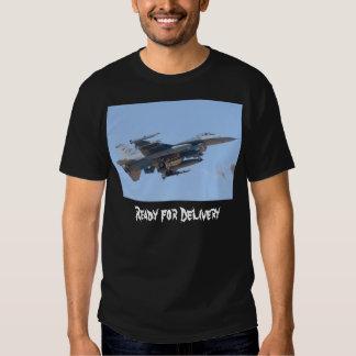Camiseta de la potencia de fuego de F-16C