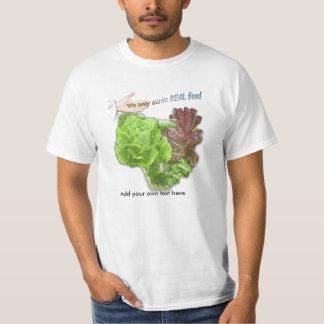 Camiseta de la promoción de la salud