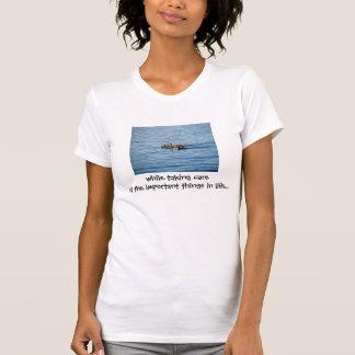 Camiseta de la promoción del Web site