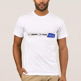 Camiseta de la prueba de embarazo del