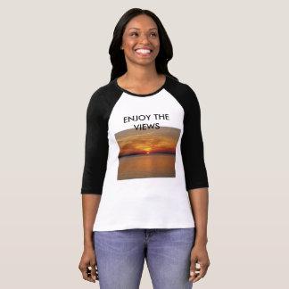 Camiseta de la puesta del sol