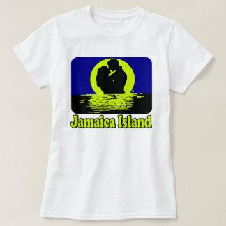Camiseta de la puesta del sol de la isla de
