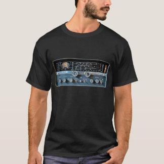 Camiseta Camiseta de la radio de la onda corta del vintage