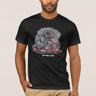 Camiseta de la rata del zombi