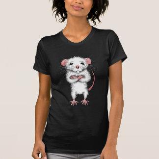 Camiseta de la rata linda
