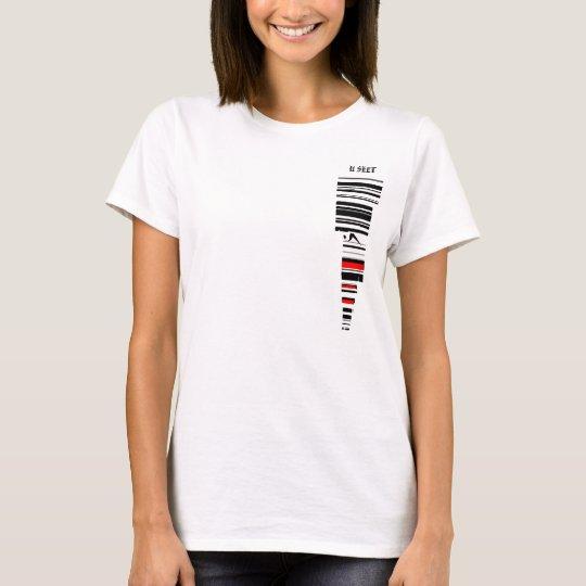 Camiseta de la raya de Mitchel